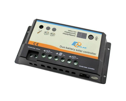 Контроллер заряда EPIPDB-COM 10А, 12/24В для 2-х АКБ