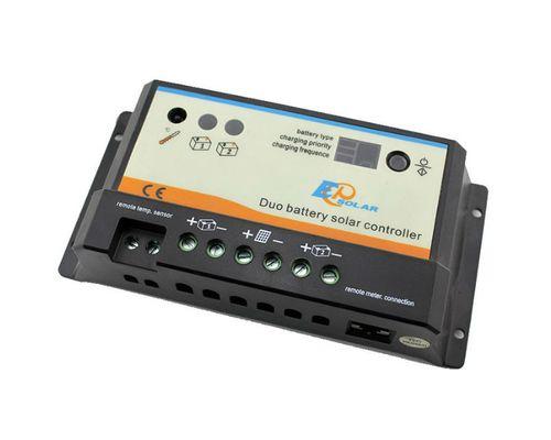 Контроллер заряда EPIPDB-COM 20А, 12/24В для 2-х АКБ