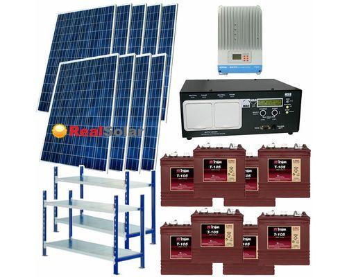 "Солнечная электростанция 4,5 - 9 кВт 48В 225Ач  ""Large"""