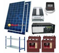 "Солнечная электростанция 2 - 3 кВт 24В 225Ач  ""Small"""